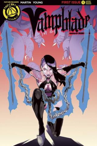 Vampblade #1 (Artist Cover)