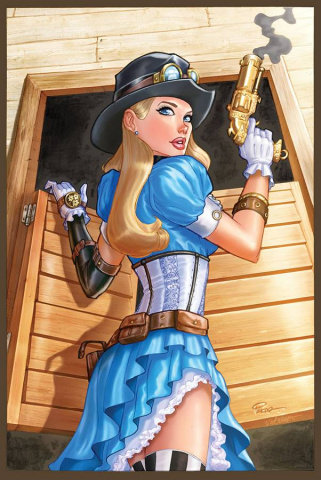 Grimm Fairy Tales: Steampunk #2 (Pekar Cover)