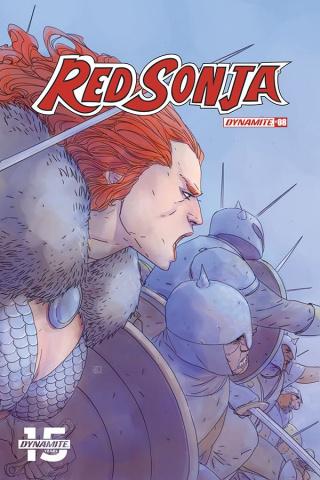 Red Sonja #8 (Pham Cover)