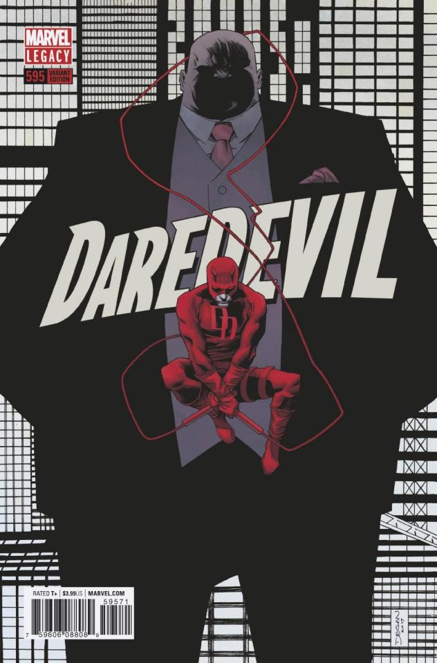 Daredevil #595 (Shalvey Cover)