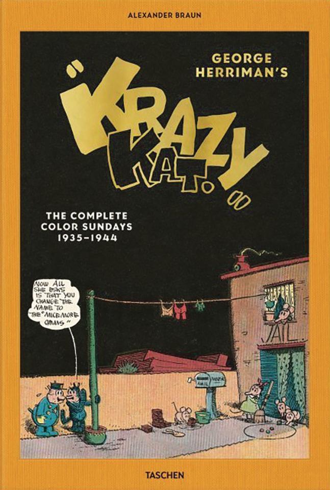 George Herriman's Complete Krazy Kat in Color: 1935-1944