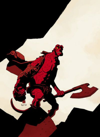 Hellboy: The Fury #1 (Mignola Cover)