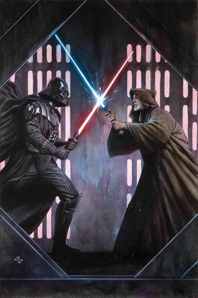 Star Wars: Mace Windu, Jedi of the Republic #2 (40th Anniversary Cover)