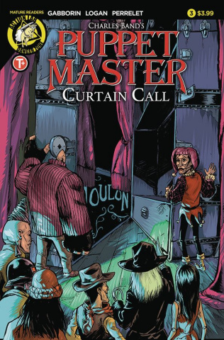 Puppet Master: Curtain Call #3 (Logan Cover)