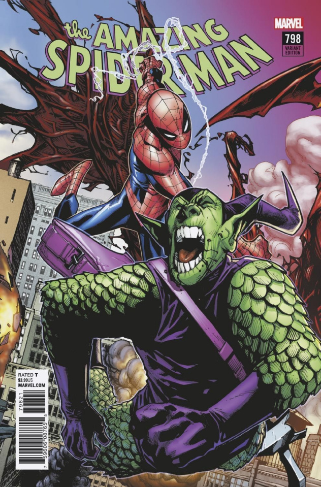The Amazing Spider-Man #798 (Ramos Connecting Cover)