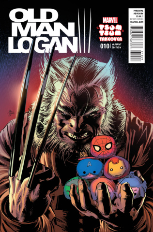 Old Man Logan #10 (Deodato Tsum Tsum Cover)