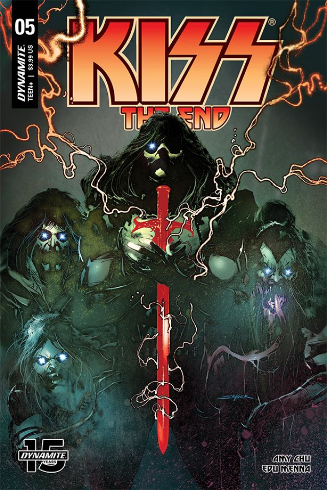 KISS: The End #5 (Sayger Cover)