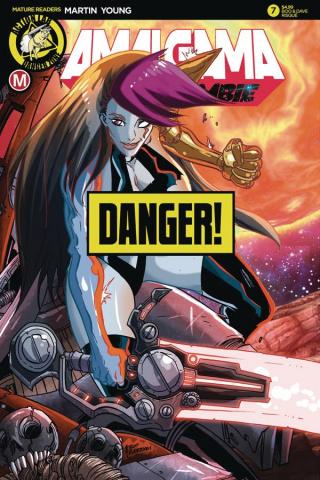 Amalgama: Space Zombie #7 (Rudetoons Reynolds Risque Cover)