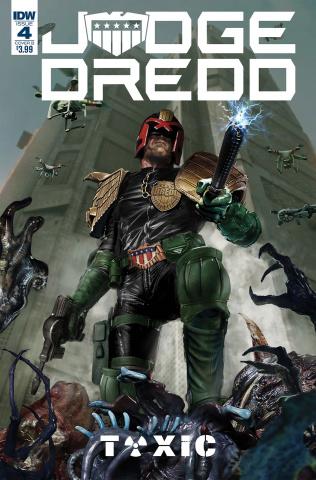 Judge Dredd: Toxic #4 (Gallagher Cover)