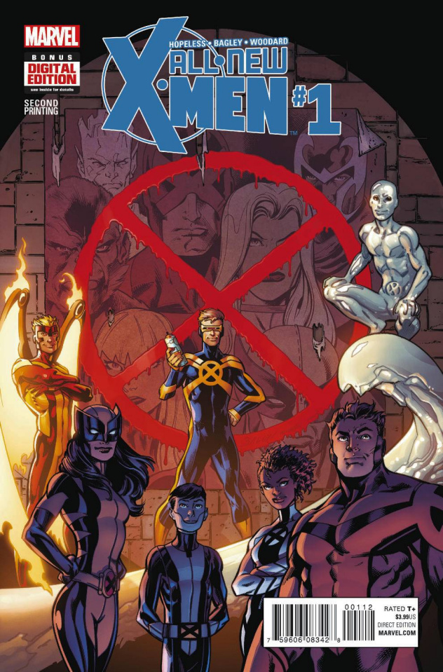 All-New X-Men #1 (Bagley 2nd Printing)