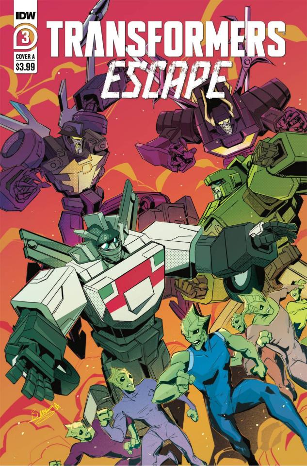 Transformers: Escape #3 (McGuire-Smith Cover)