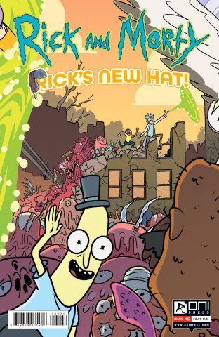 Rick and Morty: Rick's New Hat! #2 (Stern Cover)