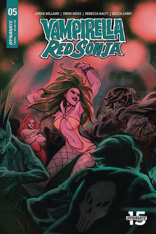 Vampirella / Red Sonja #5 (Tarr Cover)
