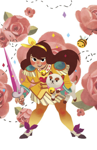 Bee and Puppycat #1 (Phoenix Con Cover)