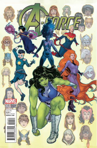 A-Force #1 (Ibanez Cover)