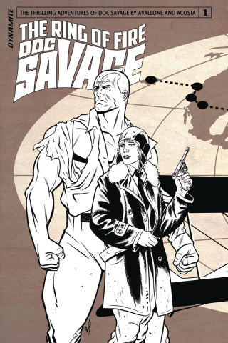 Doc Savage: The Ring of Fire #1 (10 Copy Cover)