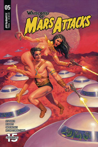Warlord of Mars Attacks #5 (Hildebrandt Cover)