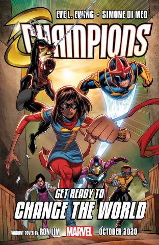 Champions #1 (Ron Lim Cover)