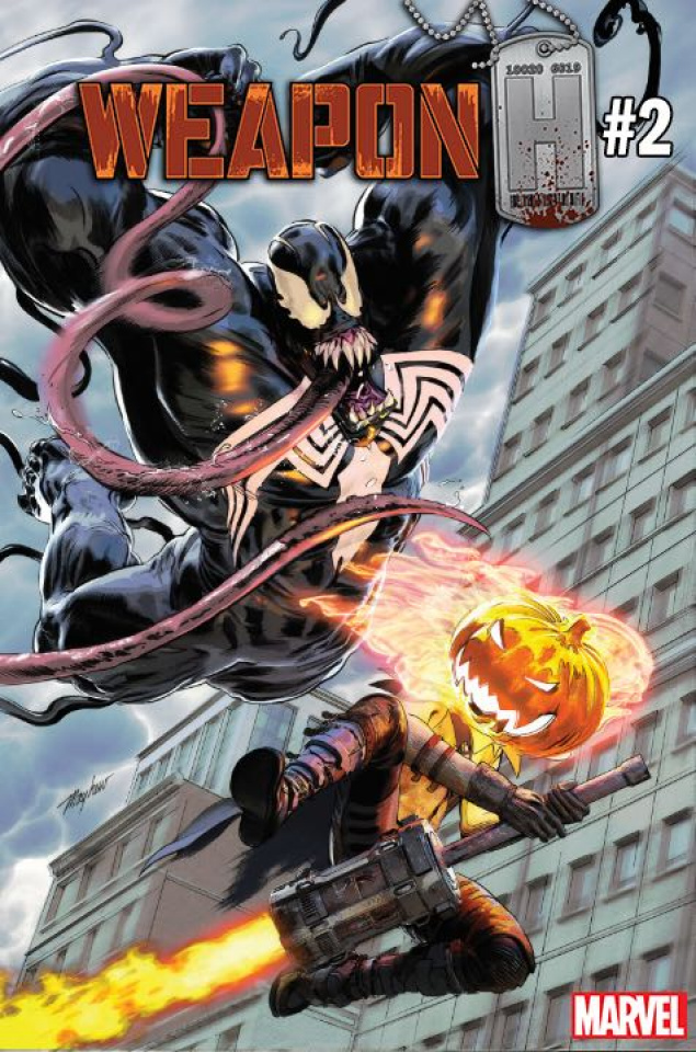 Weapon H #2 (Mayhew Venom 30th Anniversary Cover)