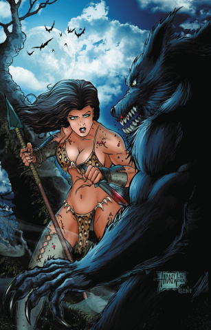 Cavewoman: Monster Dreams #1 (Mangum Cover)