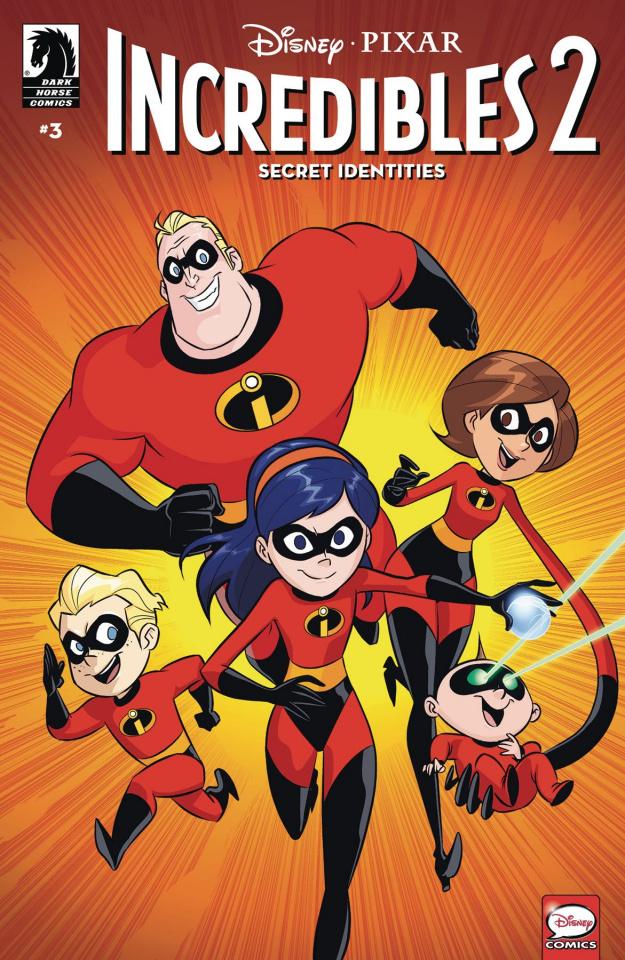 Incredibles 2: Secret Identities #3 (Claudio-Vinci Cover)