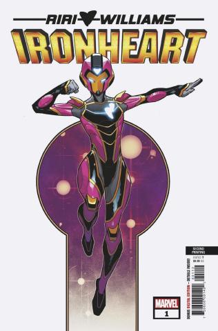 Ironheart #1 (Vecchio 2nd Printing)