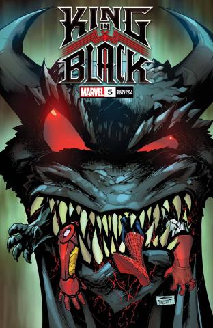 King in Black #5 (Sandoval Dragon Cover)