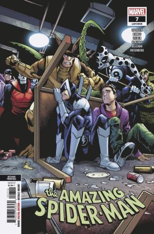The Amazing Spider-Man #7 (Ramos 2nd Printing)