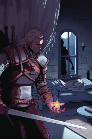 The Witcher #1: Of Flesh & Flame