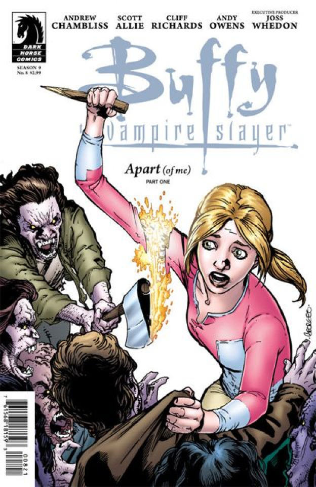 Buffy the Vampire Slayer, Season 9: Freefall #8 (Jeanty Cover)