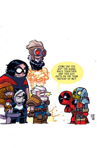 X-Force #1 (Young Cover)