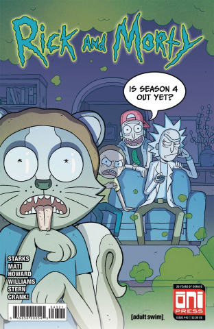 Rick and Morty #43 (Mati Cover)