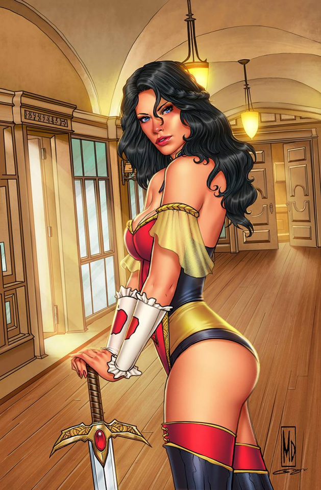 Grimm Fairy Tales #49 (Dipascale Cover)