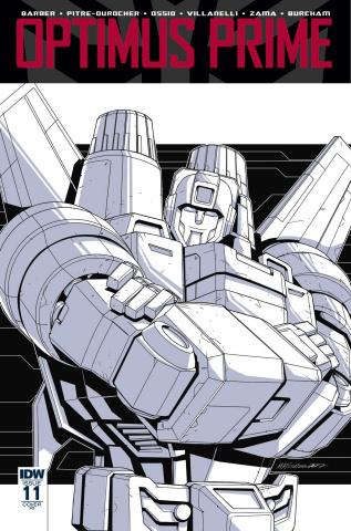 Optimus Prime #11 (10 Copy Cover)
