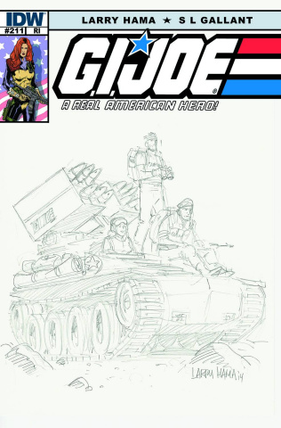 G.I. Joe: A Real American Hero #211 (10 Copy Cover)