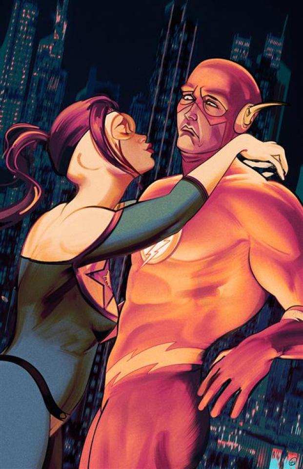 The Flash #769 (Zi Xu Card Stock Cover)
