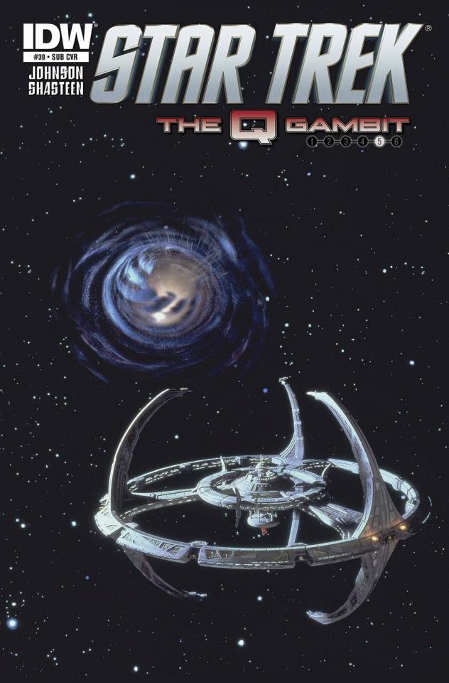 Star Trek #39 (Subscription Cover)
