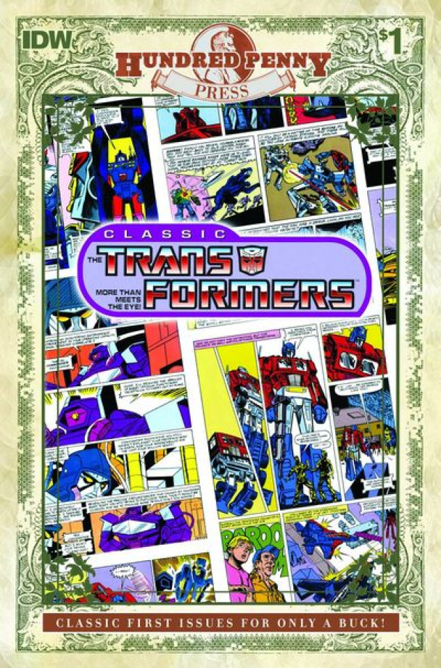 The Transformers Classics #1 (100 Penny Press)