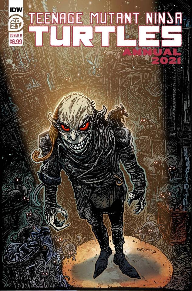 Teenage Mutant Ninja Turtles Annual 2021 (Eastman Cover)