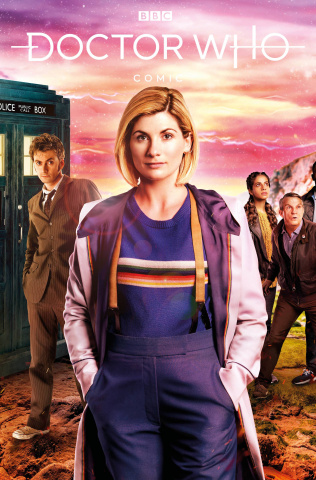 Doctor Who Comics #2 (Photo Cover)