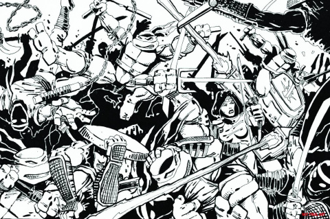 Teenage Mutant Ninja Turtles: The Secret History of the Foot Clan #1 (Exclusive Cover)