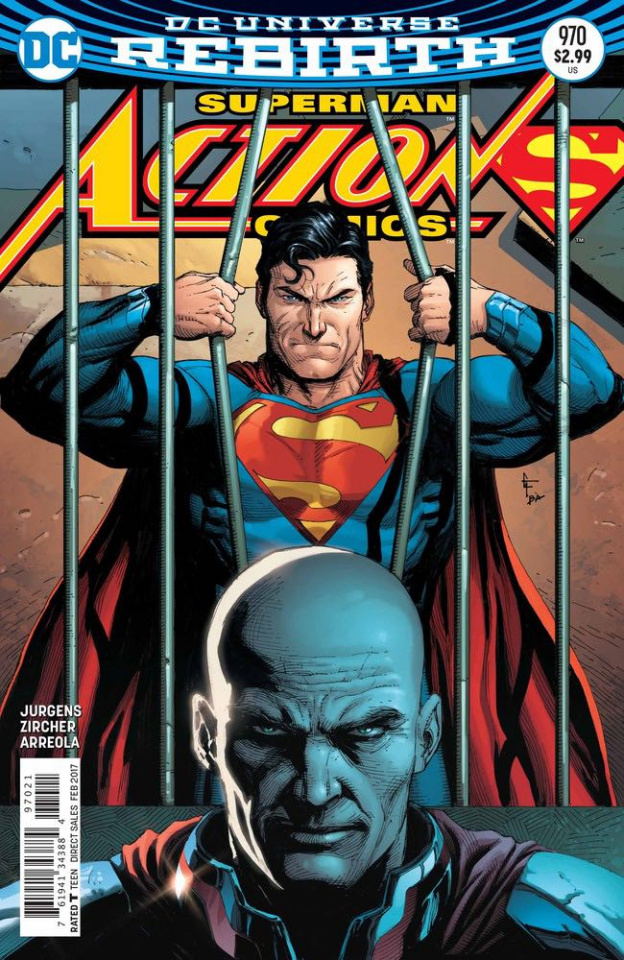 Action Comics #970 (Variant Cover)