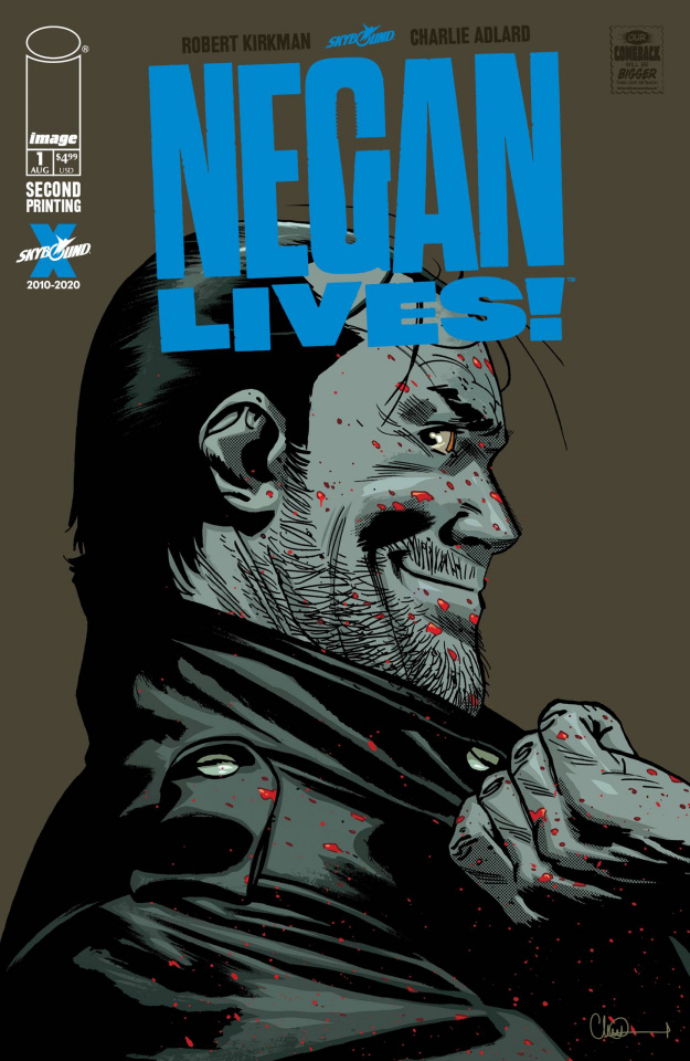Negan Lives! #1 (2nd Printing)