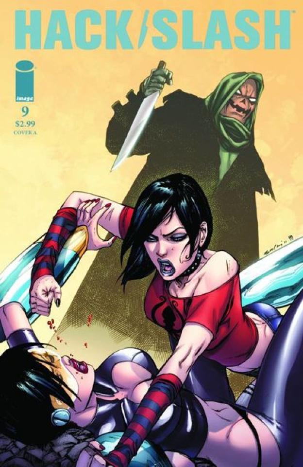 Hack/Slash #9 (Leister Cover)