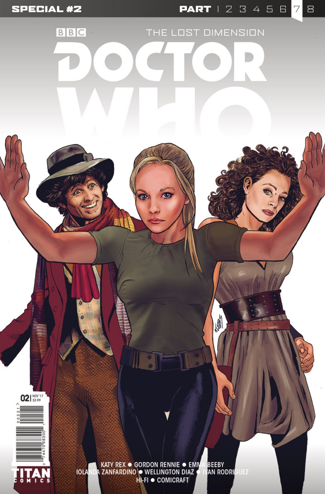 Doctor Who: The Lost Dimension #2 (Klebs Jr. Cover)