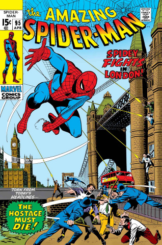 Spider-Man: Spidey Fights in London #1 (True Believers)