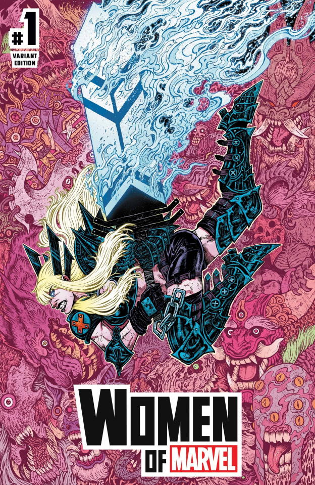 Women of Marvel #1 (Wolf Cover)