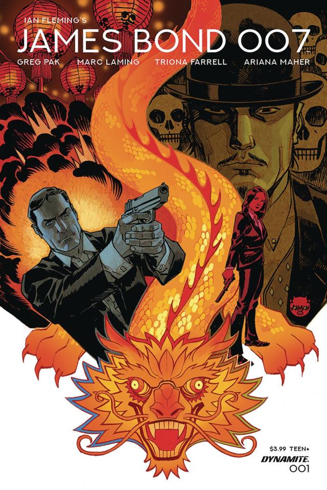 James Bond: 007 #1 (Johnson Cover)