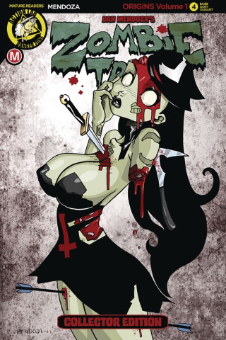 Zombie Tramp: Origins #4 (Mendoza Cover)