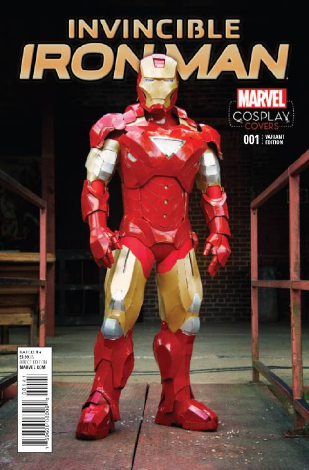 Invincible Iron Man #1 (Cosplay Cover)